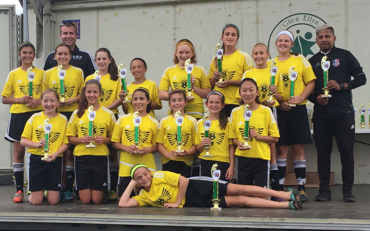 U13 Girls Black